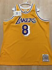 Lakers Kobe Bryant Mitchell & Ness Gold Hardwood Classic Authentic ...
