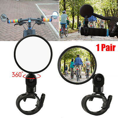 2x Bicycle Handlebar Rearview Mirror for Cycling Bike Bicycle Rear View Mirror