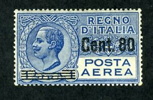 Italy, Scott #C11, Victor Emmanuel III, Mint Hinged, 1927