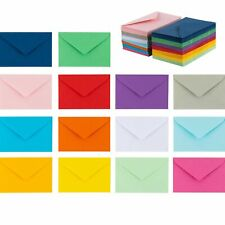 140 Mini Envelopes 14 Assorted Colors Gift Card 4x 27