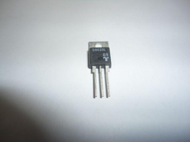 5pcs D8020L NEW Genuine TECCOR TO-220