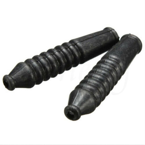 2X Bike Bicycle V Brake Cable Guide Pipe Tube Hose Accessories With Rubber Cover