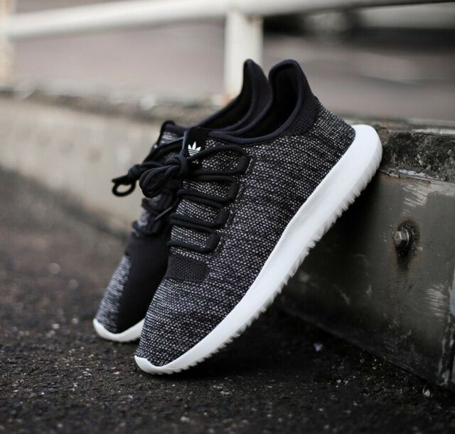 Adidas Herren Jungen Tubular Shadow KNIT Sneaker Schuhe bb8826 schwarzweiß UK 4 11