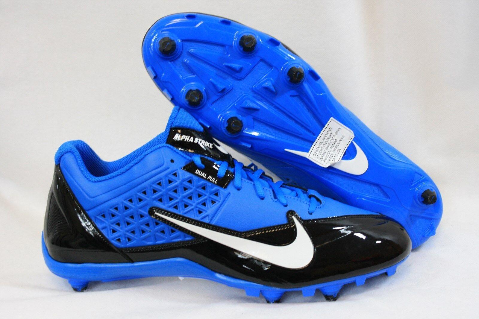 NEW Mens NIKE Alpha Strike D 579371 014 Photo bluee Football Cleats shoes