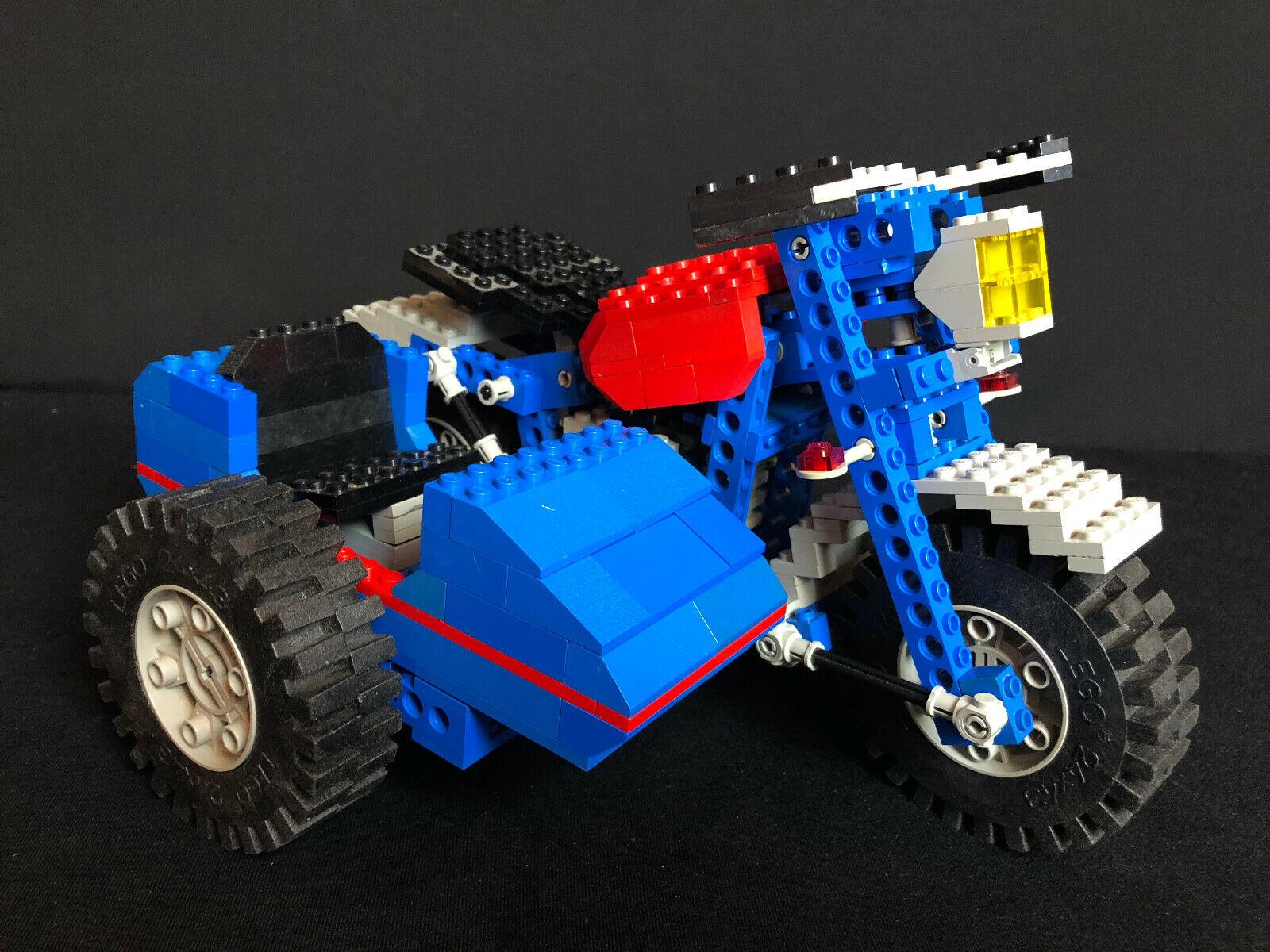 Lego 857 Technic Technic motorbike with Side de  1779 complet complete  meilleurs prix et styles les plus frais