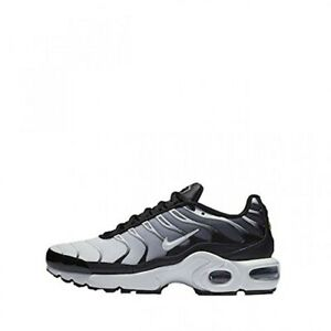 hot sale online 155cb fb784 Details about Nike Air Max Plus TN Girls/Women's/Boys Trainers #655020-077  Black / White