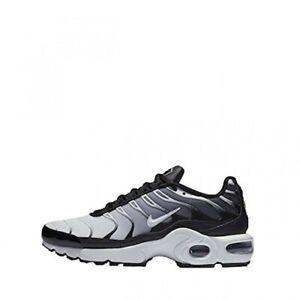 hot sale online fbd03 cc93e Details about Nike Air Max Plus TN Girls/Women's/Boys Trainers #655020-077  Black / White
