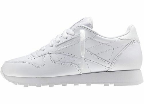 Reebok Mens Classic Leather Sneaker Casual Shoes White New Size 11.5