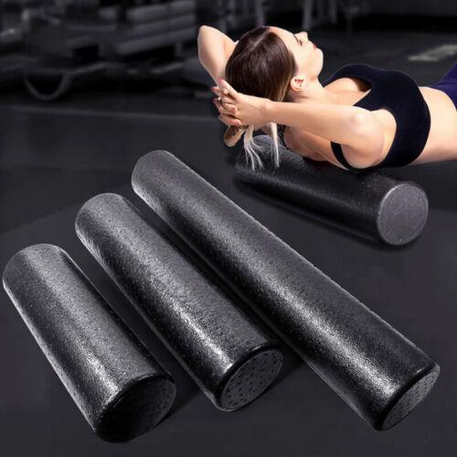 1pc Solid Yoga Column Gym Fitness Foam Roller Women Pilates Back Muscle