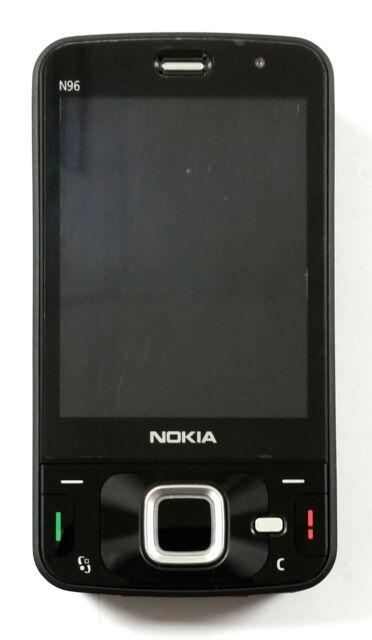 Nokia N Series N96 - 16GB - Black GSM Unlocked Quadband 5MP Camera,Slider Phone.