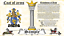 thumbnail 1 - Landias-Lanuis COAT OF ARMS HERALDRY BLAZONRY PRINT