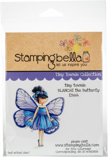 Se aferran sellos-Blanche La Mariposa-Stamping Bella