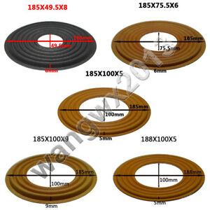 Details about 49 5/75 5/100mm Core Subwoofer Bass Horn Speaker Repair  Spider Damper Φ185/188mm