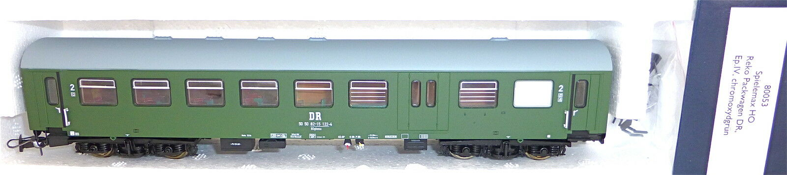 Reko Pack carro chromoxydgruen Dr ep4 Heris 80053 h0 1 87 nuevo embalaje original b2b2 µg