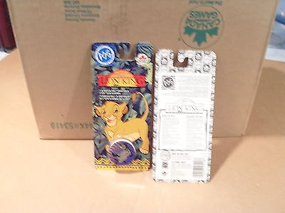 LION KING POGS BY CANADA GAMES UNOPENED CASE of 144 BLISTER PACKS 1008 POGS 144S
