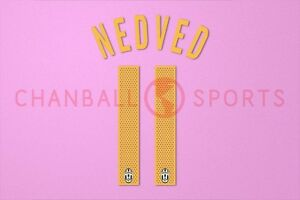 d9b73618d Image is loading Nedved-11-2004-2005-Juventus-Awaykit-Nameset-Printing