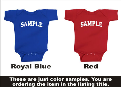 Creeper Romper Personalized Custom Name /& Number 49ers Baby One Piece