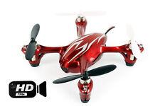 Hubsan X4 Quadcopter RTF con HD 2MP Fotocamera, modalità 1 trasmettitore-Rosso / Argento
