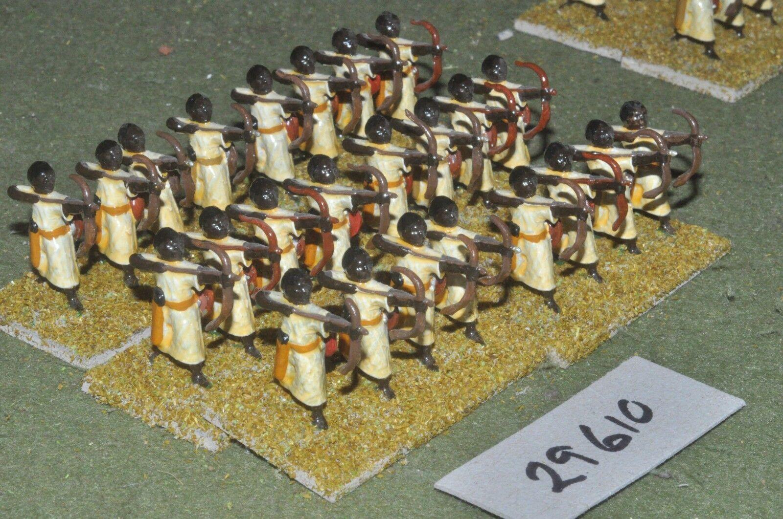 25mm medieval   saracen - archers 24 figures - inf (29610)
