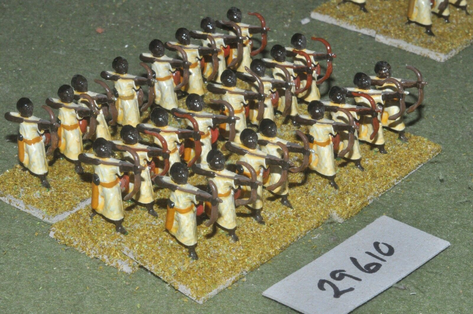 25mm medieval Sarraceno-arqueros 24 figuras-INF (29610)