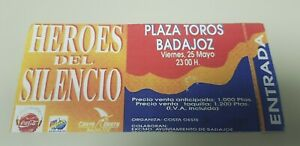 JJ-ENTRADA-CONCIERTO-HEROES-DEL-SILENCIO-25-05-1990-PLAZA-TOROS-BADAJOZ