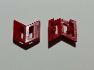 Vintage G1 Transformers Diaclone Omega Supreme Small Red Clip Custom Parts Lot
