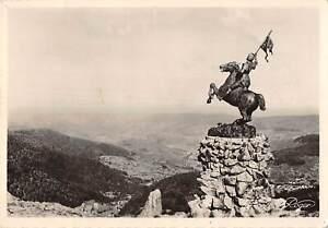 """B106283 France Ballon d'Alsace Monument a """"Jeanne d'Arc"""" Statue real photo uk"""