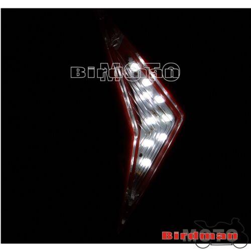 White Dirtbike LED Headlight Lamp Enduro MX For KTM EXC CRF RMZ DR KLR KL 250