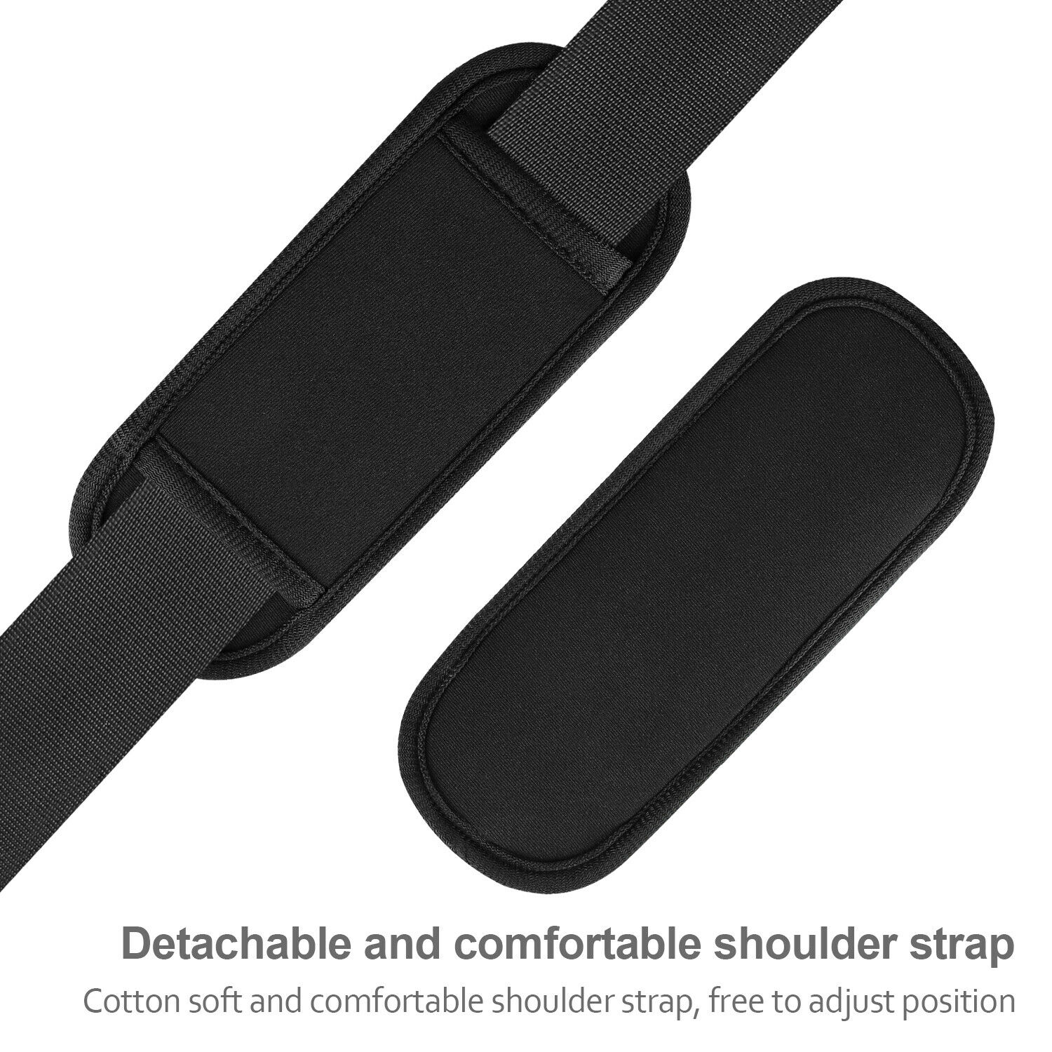 155cm Replacement Padded Shoulder Strap Extra Long Adjustable