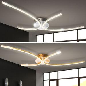 led 30 watt decken lampen g stezimmer flur strahler silber gold leuchten gebogen ebay. Black Bedroom Furniture Sets. Home Design Ideas
