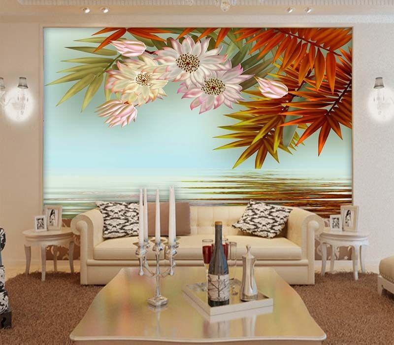 Tender Magical Petal 3D Full Wall Mural Photo Wallpaper Printing Home Kids Decor