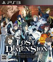 Used PS3 Lost Dimension Japan Import (Free Shipping)