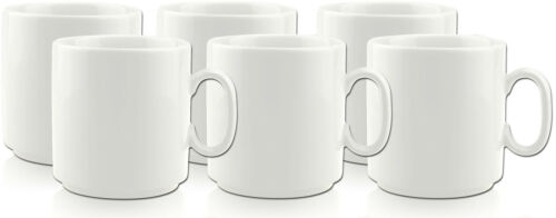Porzellantassen stapelbar 27cl randvoll EU Porzellan - bewährte Qualität Gastro