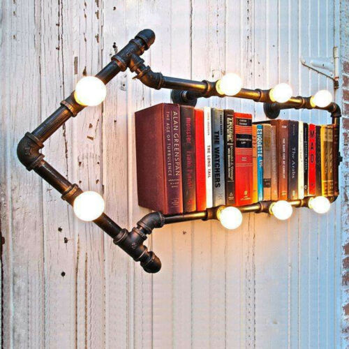 1//2/'/' 3//4/'/' Pipe Lamp Switch Valve Vintage Steampunk Industrial Iron Table light