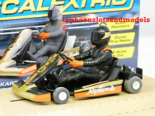 SCALEXTRIC C3667 Super Kart - No.8 - Black - New & Boxed