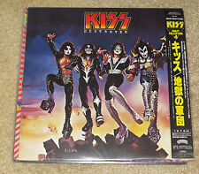 KISS DESTROYER CRAZY COLLECTION #4 JAPANESE VINYL LP WITH OBI