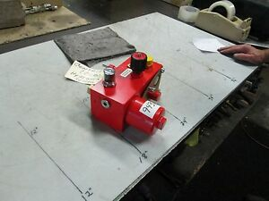 Flutec-Centrifuge-OCB-High-Pressure-Hydraulic-Control-Valve-Base-NEW