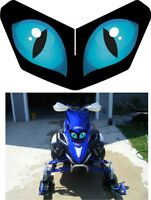 Yamaha Sled Snowmobile Fx Nytro Phazer Rs Rx Max Headlight Decal Sticker 4