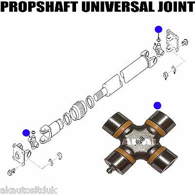 FOR MAZDA BONGO FRIENDEE 95-05 CROSSING REAR PROPSHAFT UNIVERSAL JOINT 26.5x48x7