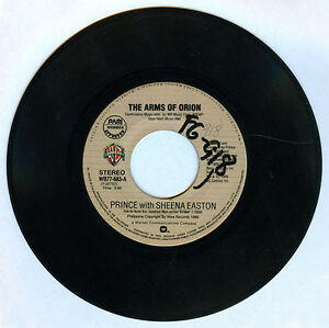 Philippines-PRINCE-with-SHEENA-EASTON-The-Arms-Of-Orion-45-rpm-Record
