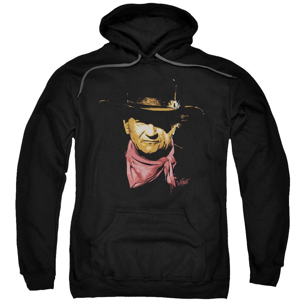 John Wayne SPLATTER Licensed Adult Sweatshirt Hoodie