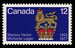 Canada-Stamp-12-Canadian-Governor-General-Standard-1952-1977-MNH-VF