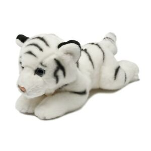 8-034-Miyoni-White-Tiger-Soft-Toy-Wild-8inch-Aurora-Plush-Cuddly-New-Brand