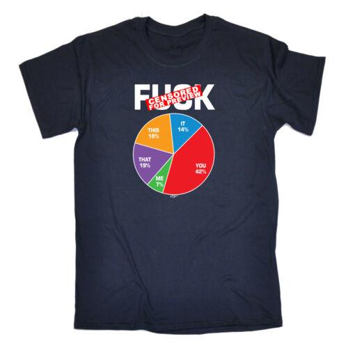 Funny Novelty T-Shirt Mens tee TShirt Fck Statistics