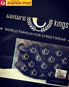 CULTURE-KINGS-NFS-LOGO-FACE-MASK-FASHION-STREETWEAR-DESIGNER-BLACK-NEW