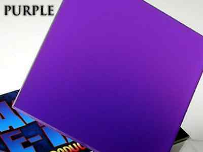 A4 Sheet Translucent Purple Acrylic Perspex Plastic 210mm x 300mm x 3mm One 1