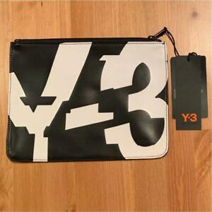 c98a70d19c8 Y-3 Yohji Yamamoto adidas Pouch Clutch Bag Black Not sold in stores ...