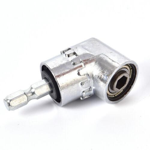 105 Winkel 6mm Verlängerung Hex Bohrer Schraubendreher Buchse Halter AdapterPTYK