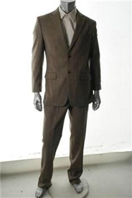 Jones New York Collection 2-Button Suit Tan Wool Größe 38R NWT 475