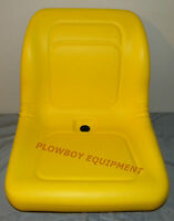 Yellow High Back Seat For John Deere Z-track Ztr F620 F680 Lawn Mower Zero Turn